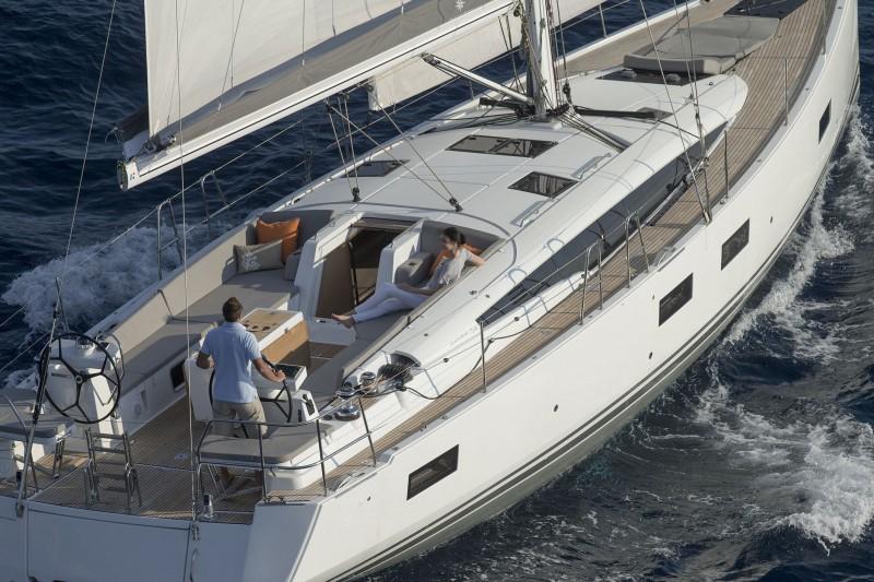 The Brian designed Jeanneau 54 sails as good as she looks!