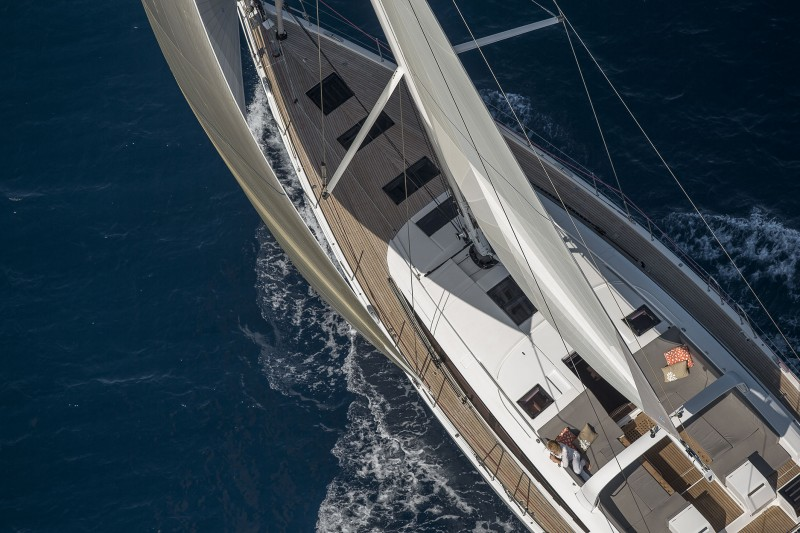 Under sail, the Jeanneau 64 is one sweet ticket to ride.