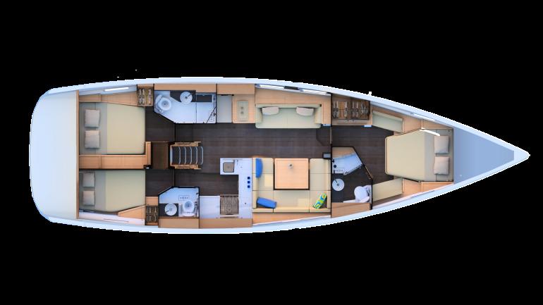 J51 - 3 cabin