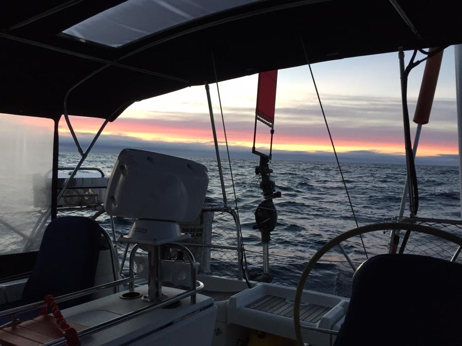 Sunset at Sea off the WA coast